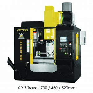 CHESTER VF760 HIGH SPEED ULTRA PERFORMANCE CNC MACHINING CENTRE