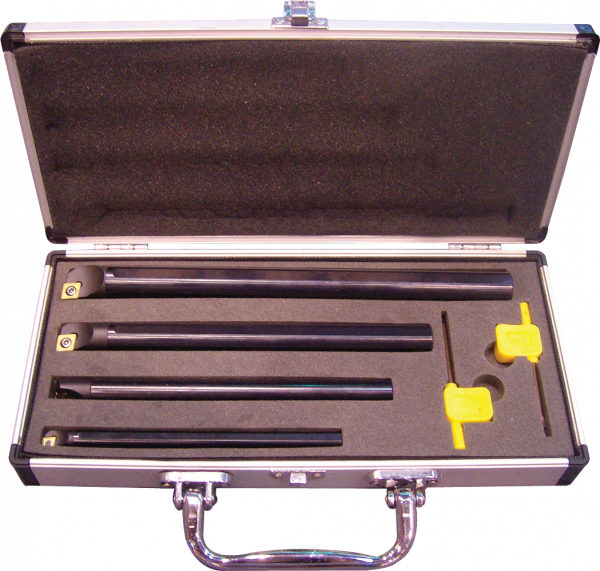 4 PIECES INDEXABLE BORING BAR SET 90 DEGREES 16mm - Chester Machine Tools