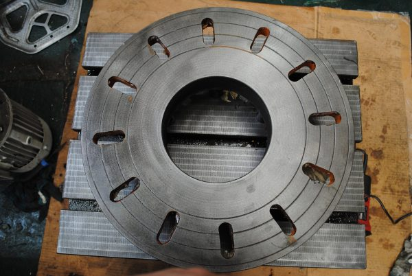 Faceplate - 500mm with d1-8 camlock on the rear - Chester Machine Tools
