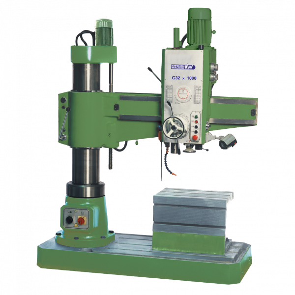 KITCHEN & WALKER G32x1000 RADIAL DRILLING MACHINE