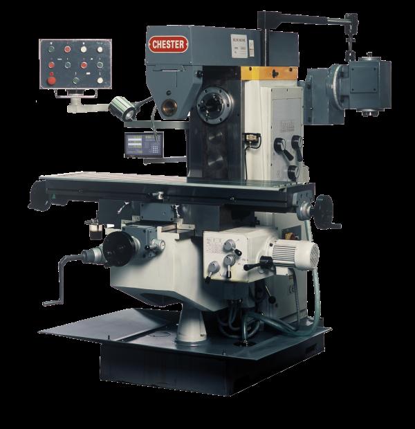 U40 / U40S Chester Universal Milling Machine - Chester Machine Tools