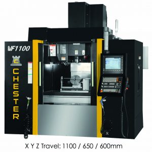 CHESTER VF900 - VF1500 HIGH SPEED ULTRA HIGH PERFORMANCE CNC MACHINING CENTRES