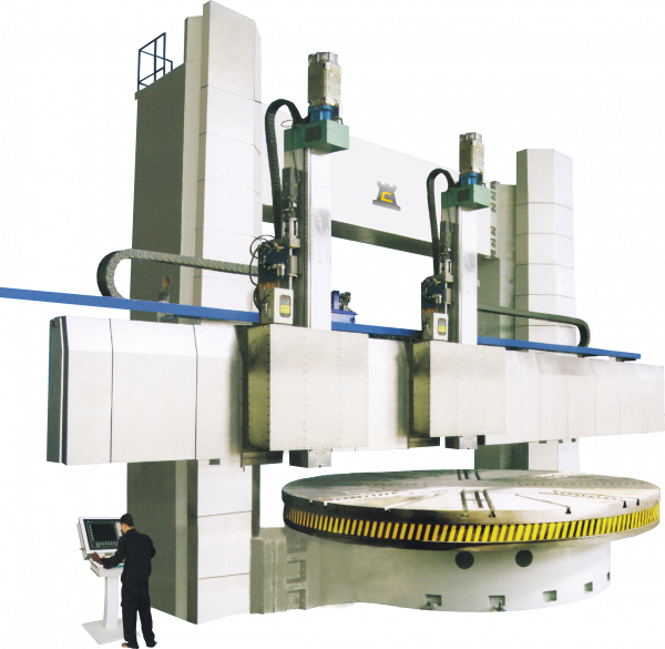 Chester VBD Series Double Column CNC Vertical Boring Machines - Chester Machine Tools