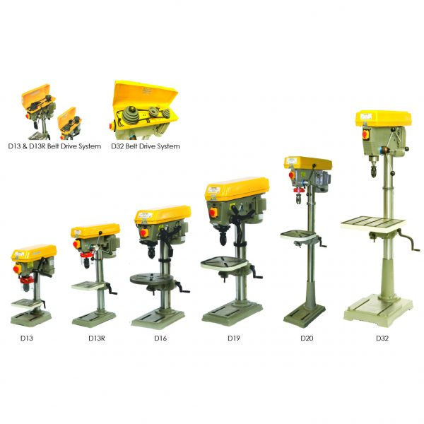 CHESTER D SERIES DRILLING MACHINES