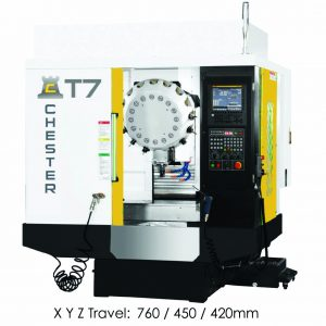 CHESTER DELTA T7 CNC DRILLING & TAPPING CENTRE