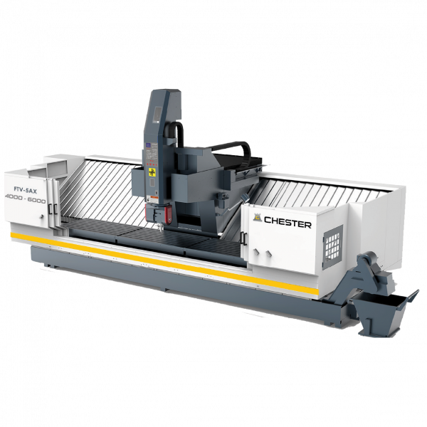 CHESTER FTV-5AX 4000 - 6000 FIXED TABLE VERTICAL MACHINING CENTRE
