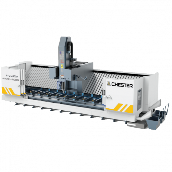 CHESTER FTV-4AX A 4000 - 6000 FIXED TABLE VERTICAL MACHINING CENTRE