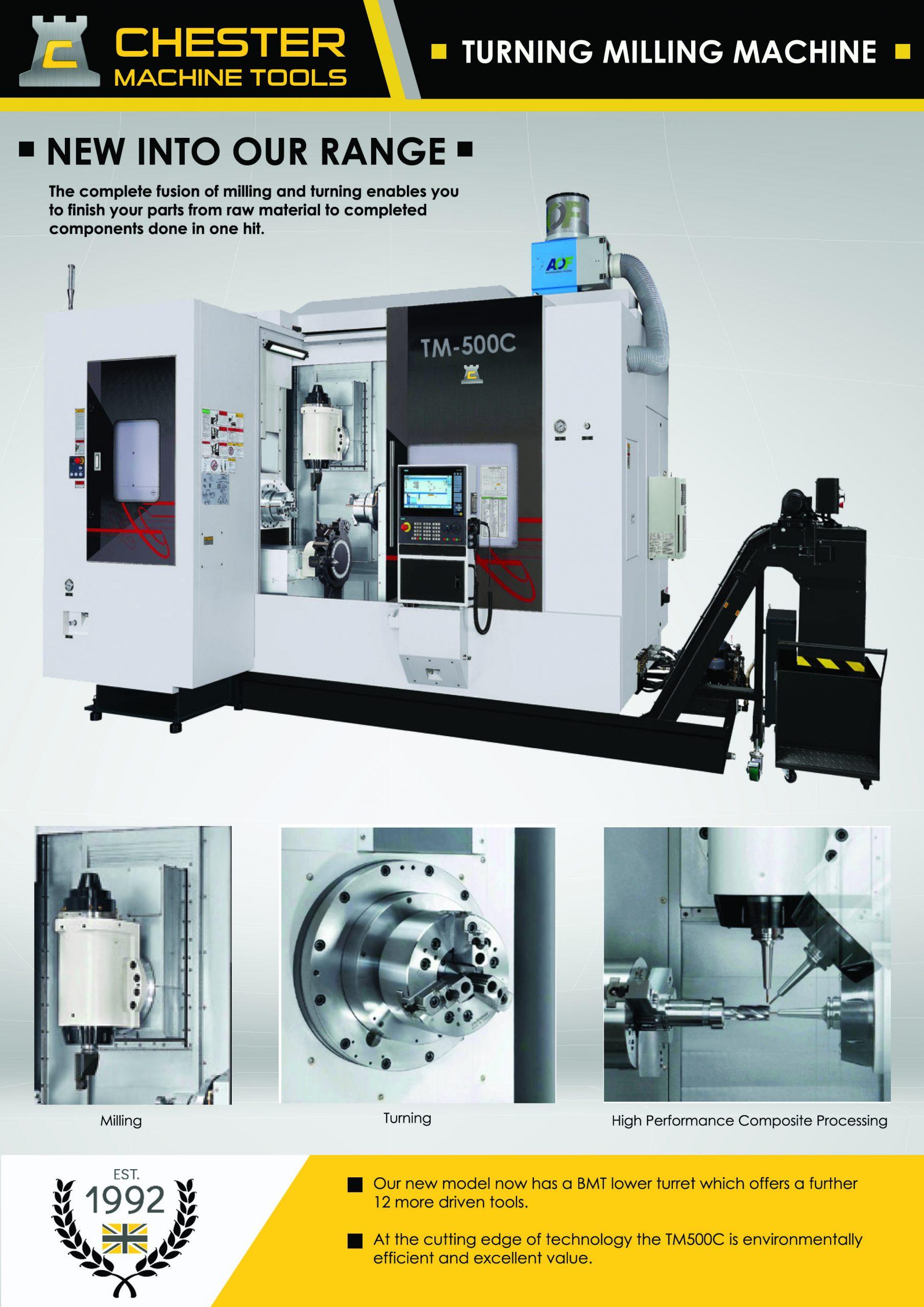 New and innovative CNC Machine technology