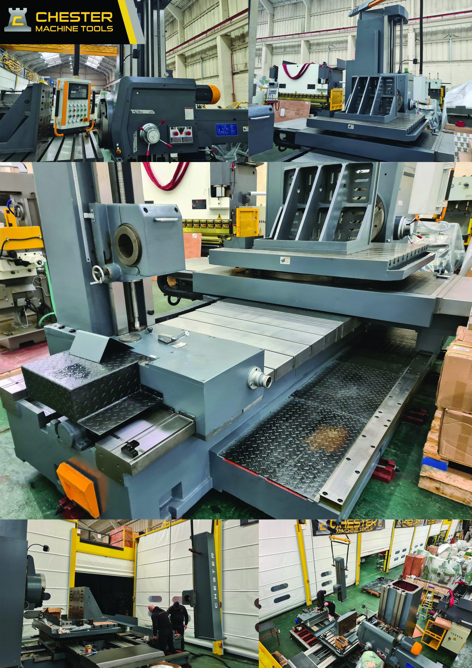 Custom Build of A Chester HB130-2 Borer