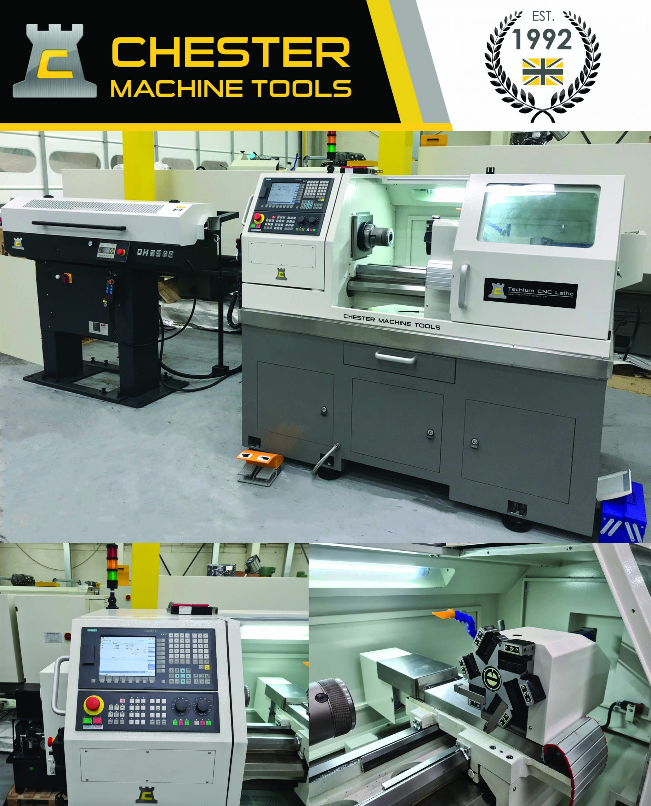The complete CNC Lathe for production requirements