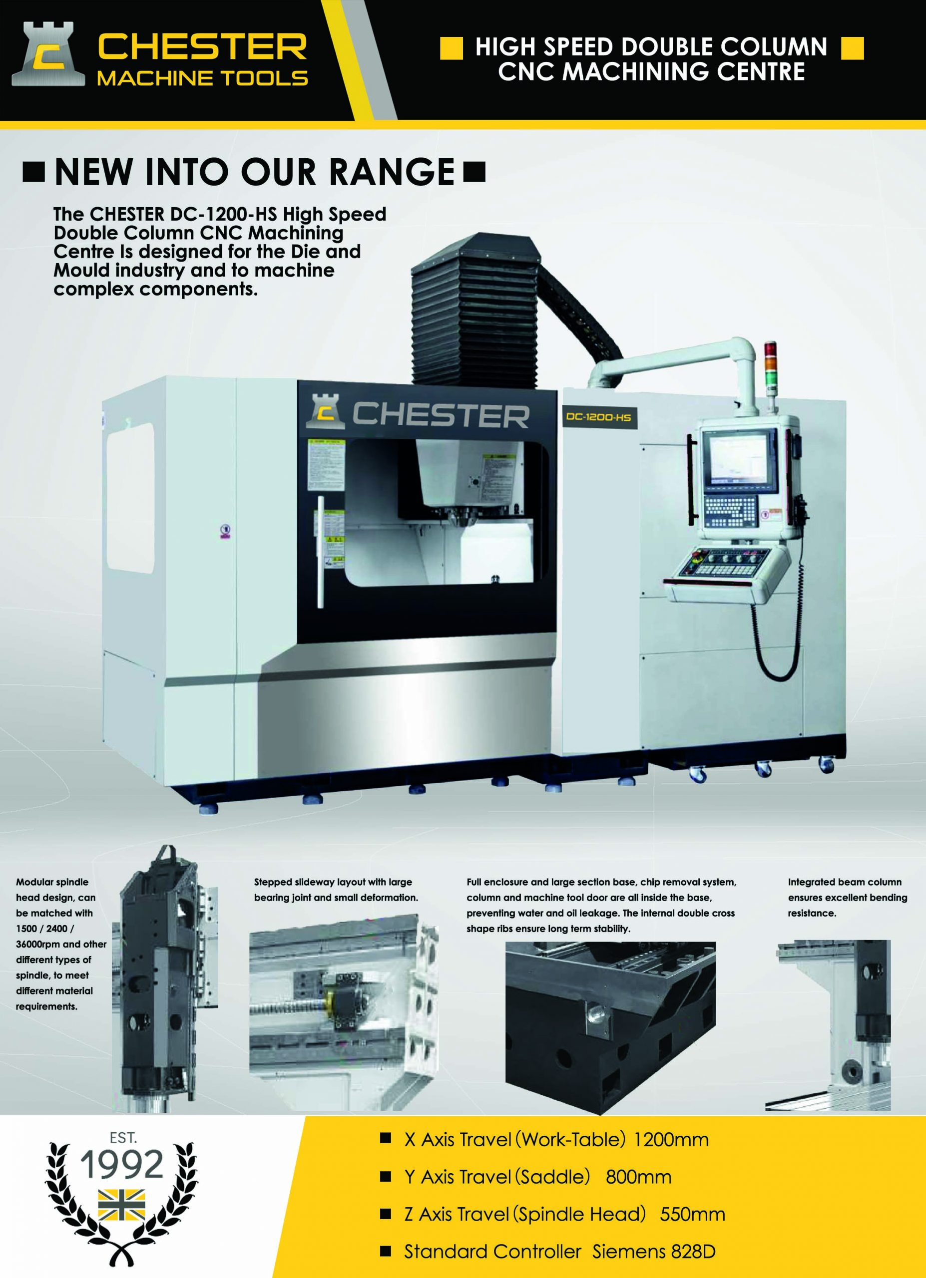 High Performance DC Series CNC Machining Centres