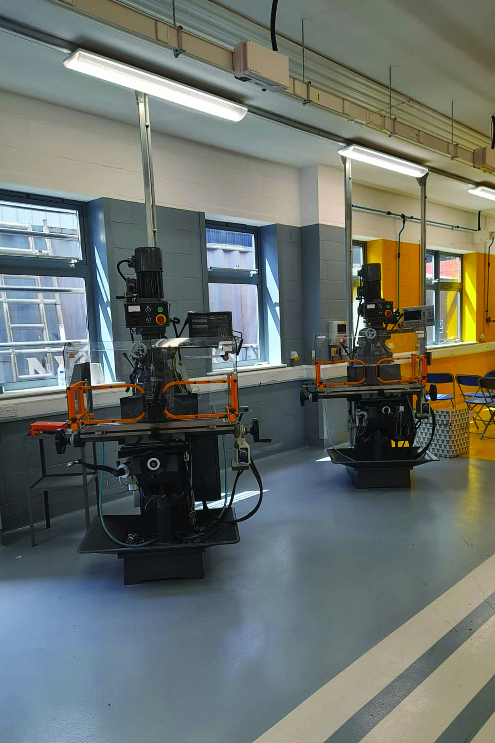 Milling Machines for UK Engineering College
