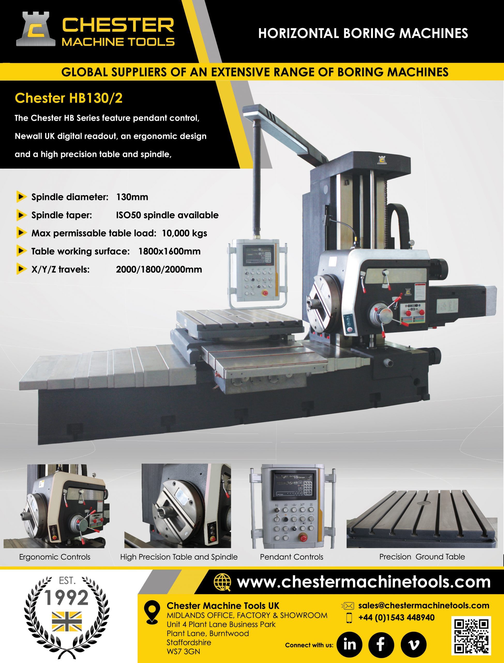 Global Suppliers of High Precision Boring Machines